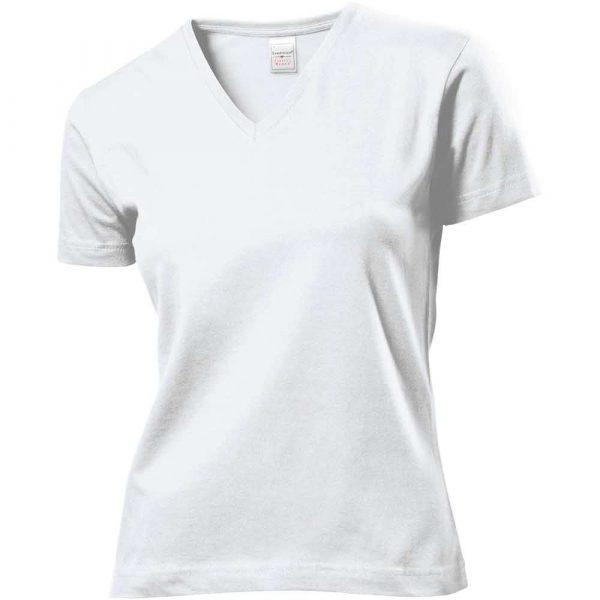 T Shirt 2 alibiuro.pl T SHIRT V NECK DAMSKI SST2700_WHIL 1