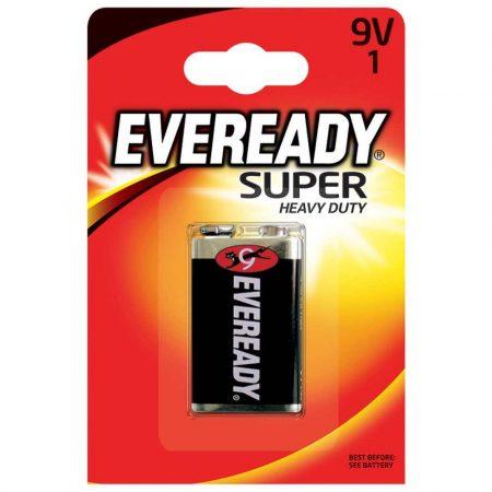 ładowarka do akumulatorów 4 alibiuro.pl Bateria EVEREADY Super Heavy Duty E 6F22 9V 34