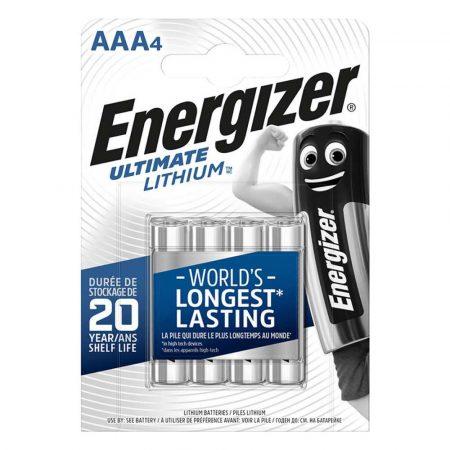 ładowarki 4 alibiuro.pl Bateria ENERGIZER Ultimate Lithium AAA L92 1 5V 4szt. 71