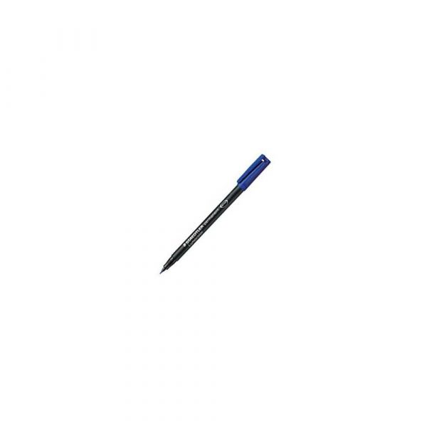 akcesoria biurowe 1 alibiuro.pl 317 Marker Lumocolor M 0 8 1 0 mm do folii płyt CD Staedtler niebieski 95