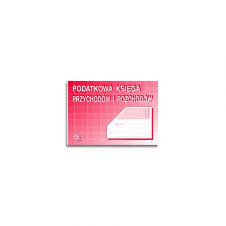 akcesoria biurowe 1 alibiuro.pl A5 Podatkowa księga przychodów i rozchodów K 3u MiP 61