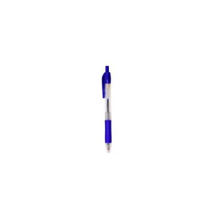 akcesoria biurowe 1 alibiuro.pl Długopis automatyczny 294 D.RECT niebieski 77