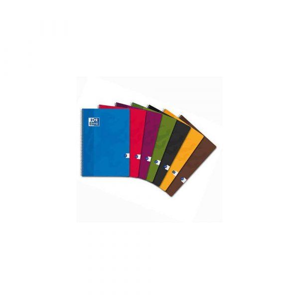 akcesoria biurowe 1 alibiuro.pl Kołonotatnik A4 90 kartek w kratkę Standard Oxford 400107151 48