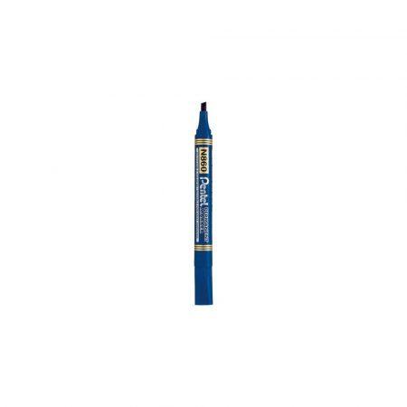 akcesoria biurowe 1 alibiuro.pl N860 Marker Permanent ścięty Pentel niebieski 47