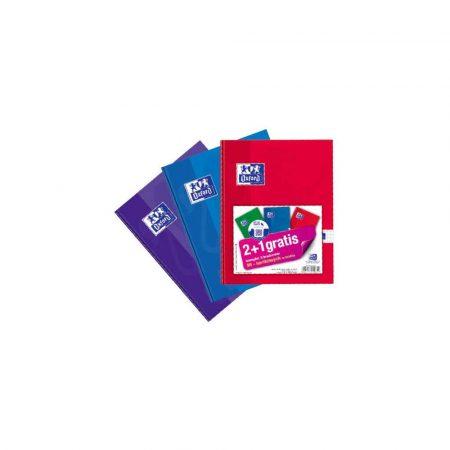 akcesoria biurowe 1 alibiuro.pl Zeszyt brulion A5 96 kartek w oprawie sztywnej mix ESSE OXFORD 94