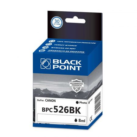akcesoria biurowe 3 alibiuro.pl BPC526BK Ink Tusz BP Canon CLI 526BK BlackPoint BPC526BK SGCCLI526BKB 16