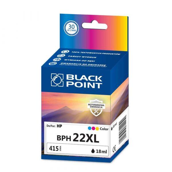 akcesoria biurowe 3 alibiuro.pl BPH22XL Ink Tusz BP HP C9352CE BlackPoint BPH22XL SGH0022BGKW 17