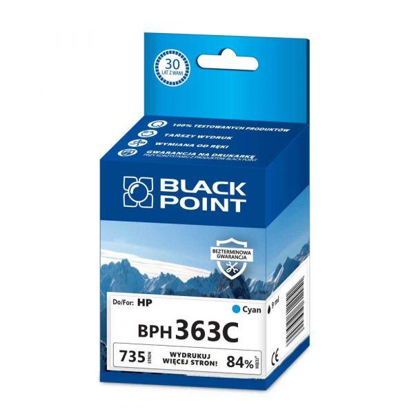 akcesoria biurowe 3 alibiuro.pl BPH363C Ink Tusz BP HP BLIS BlackPoint BPH363C SGH0363BGCW 80