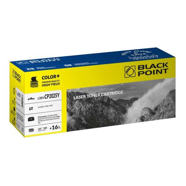 akcesoria biurowe 3 alibiuro.pl LCBPHCP2025Y Toner BP HP CC532A BlackPoint LCBPHCP2025Y BLH2025BYBW 93
