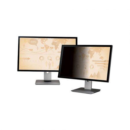 akcesoria biurowe 4 alibiuro.pl Bezramkowy filtr prywatyzujący 3M PF23.0W9 do monitorów 16 9 23 Inch czarny 62