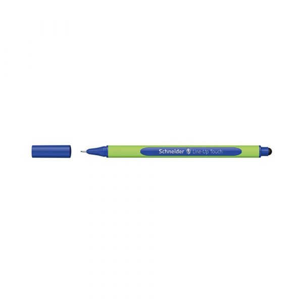 akcesoria biurowe 4 alibiuro.pl Cienkopis SCHNEIDER Line Up Touch 0 4mm niebieski 79