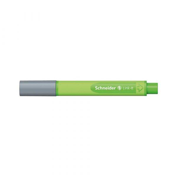 akcesoria biurowe 4 alibiuro.pl Cienkopis SCHNEIDER Link It 0 4mm szary 79