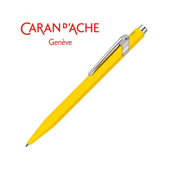 akcesoria biurowe 4 alibiuro.pl Długopis CARAN D Inch ACHE 849 Classic Line M żółty 77