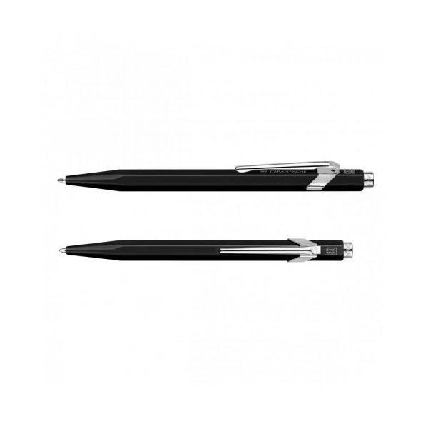 akcesoria biurowe 4 alibiuro.pl Długopis CARAN D Inch ACHE 849 Classic Line M czarny 73