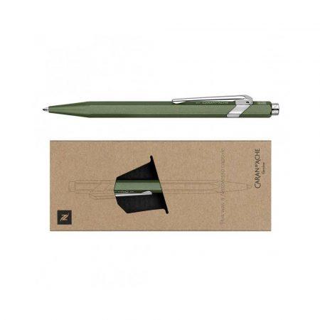 akcesoria biurowe 4 alibiuro.pl Długopis CARAN D Inch ACHE 849 Nespresso Green India M w pudełku zielony 14