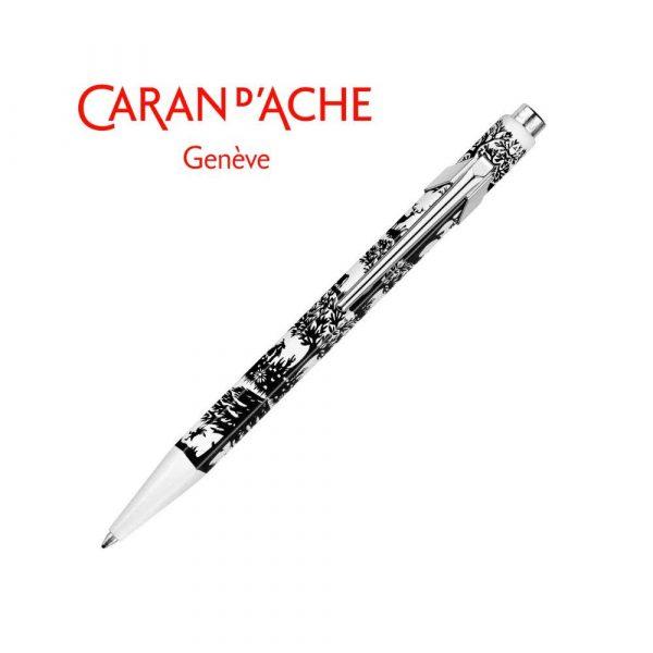 akcesoria biurowe 4 alibiuro.pl Długopis CARAN D Inch ACHE 849 Papercutting M czarny 33