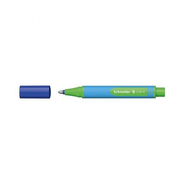 akcesoria biurowe 4 alibiuro.pl Długopis SCHNEIDER Link It Slider XB niebieski 61