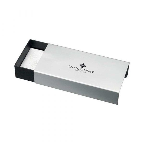 akcesoria biurowe 4 alibiuro.pl Długopis automatyczny DIPLOMAT Aero niebieski 57