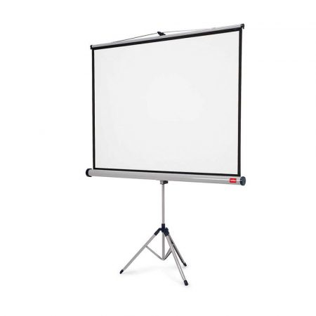 akcesoria biurowe 4 alibiuro.pl Ekran projekcyjny NOBO na trójnogu profesjonalny 16 10 2000x1310mm biały 67