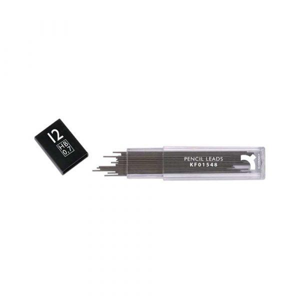 akcesoria biurowe 4 alibiuro.pl Grafity do ołówków Q CONNECT 0 7mm HB 90