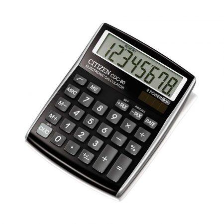 akcesoria biurowe 4 alibiuro.pl Kalkulator biurowy CITIZEN CDC 80 BKWB 8 cyfrowy 135x80mm czarny 11