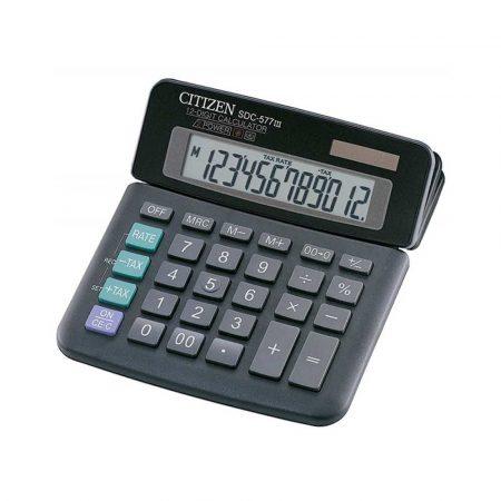 akcesoria biurowe 4 alibiuro.pl Kalkulator biurowy CITIZEN SDC 577III 12 cyfrowy 164x150mm czarny 19