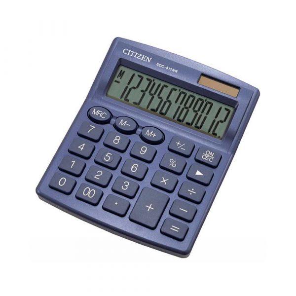 akcesoria biurowe 4 alibiuro.pl Kalkulator biurowy CITIZEN SDC 812NRNVE 12 cyfrowy 127x105mm granatowy 17