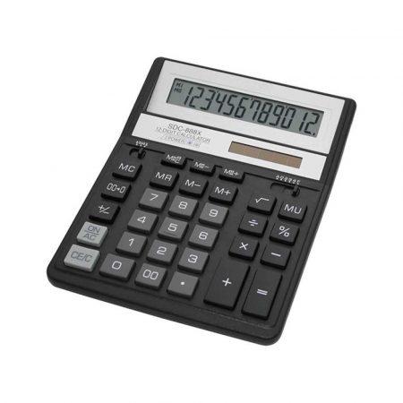 akcesoria biurowe 4 alibiuro.pl Kalkulator biurowy CITIZEN SDC 888XBK 12 cyfrowy 203x158mm czarny 4