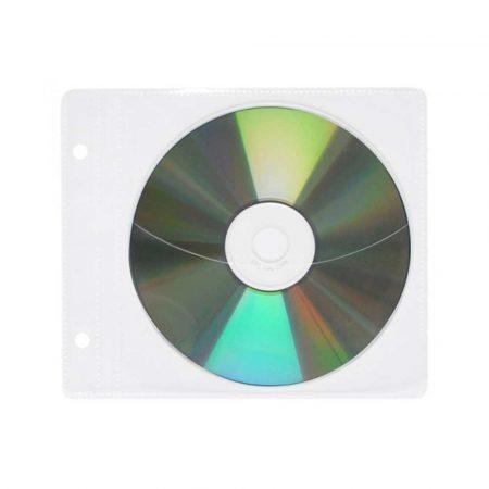akcesoria biurowe 4 alibiuro.pl Koperty na płyty CD DVD OFFICE PRODUCTS do wpinania PP 10szt. transparentny 34