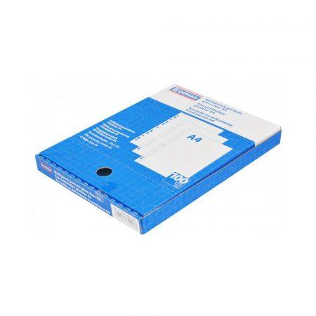 akcesoria biurowe 4 alibiuro.pl Koszulki na dokumenty DONAU PP A4 krystal 45mikr. 100szt. w pudełku 42