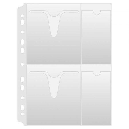 akcesoria biurowe 4 alibiuro.pl Koszulki na płyty CD DVD DONAU PP A4 groszkowe 160mikr. 10