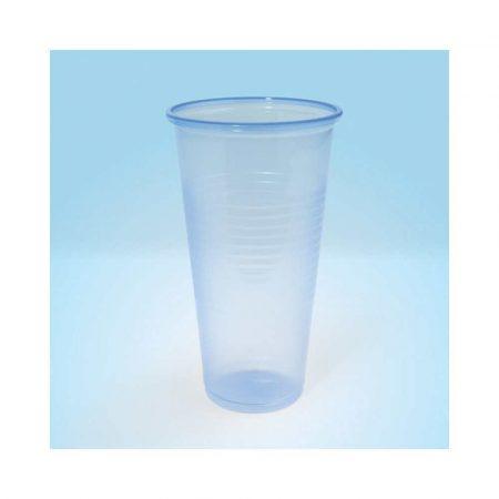 akcesoria biurowe 4 alibiuro.pl Kubek plastikowy OFFICE PRODUCTS termiczny 200ml 100 szt. transparentny niebieski 12