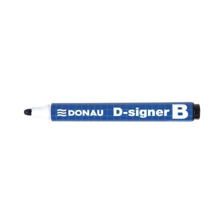 akcesoria biurowe 4 alibiuro.pl Marker do tablic DONAU D Signer B okrągły 2 4mm linia czarny 89