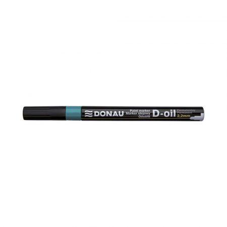 akcesoria biurowe 4 alibiuro.pl Marker olejowy DONAU D Oil okrągły 2 2mm zielony 95