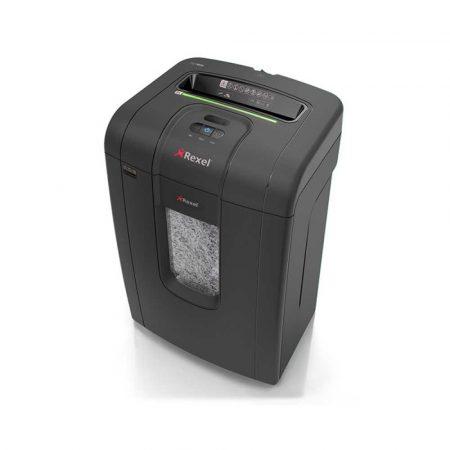 akcesoria biurowe 4 alibiuro.pl Niszczarka REXEL Mercury RSX1834 konfetti P 4 18 kart. 34l karty kredytowe CD czarna 42