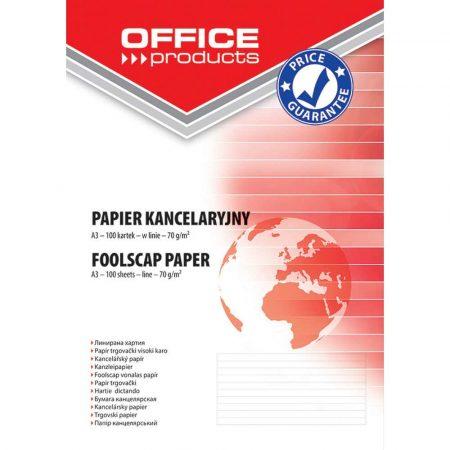akcesoria biurowe 4 alibiuro.pl Papier kancelaryjny OFFICE PRODUCTS w linie A3 100ark. 1