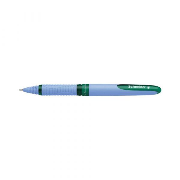akcesoria biurowe 4 alibiuro.pl Pióro kulkowe SCHNEIDER One Hybrid N 0 5 mm zielony 65