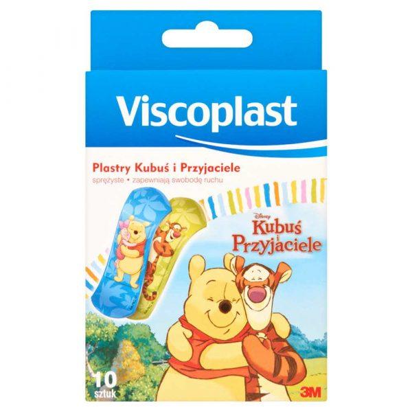 akcesoria biurowe 4 alibiuro.pl Plaster dla dzieci VISCOPLAST Kubuś i przyjaciele 10szt. 33