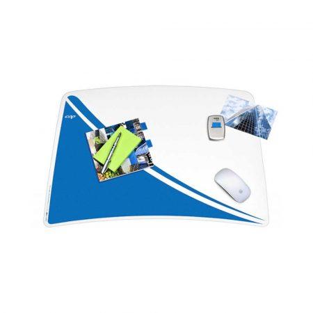 akcesoria biurowe 4 alibiuro.pl Podkładka na biurko CEPPro Gloss niebieska 92