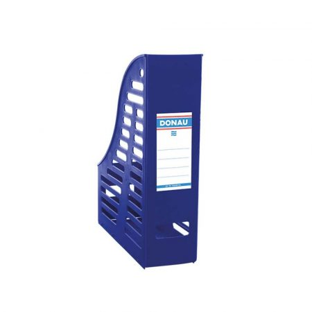 akcesoria biurowe 4 alibiuro.pl Pojemnik ażurowy na dokumenty DONAU PP A4 składany niebieski 19