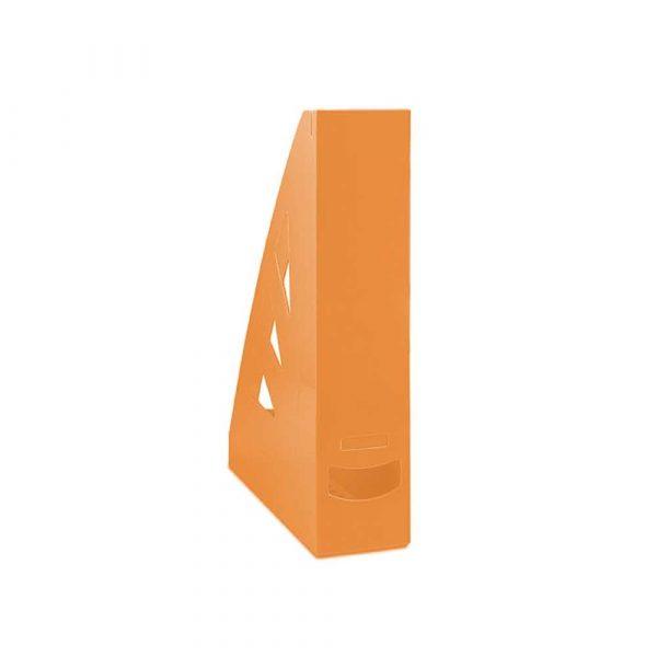 akcesoria biurowe 4 alibiuro.pl Pojemnik na dokumenty OFFICE PRODUCTS ażurowy A4 pomarańczowy 58