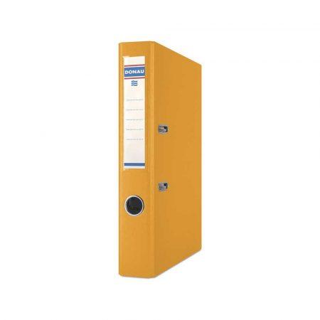 akcesoria biurowe 4 alibiuro.pl Segregator DONAU Premium PP A4 50mm pomarańczowy 76
