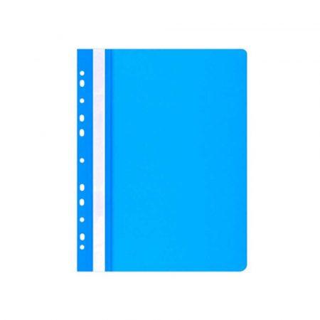 akcesoria biurowe 4 alibiuro.pl Skoroszyt OFFICE PRODUCTS PP A4 miękki 100 170mikr. wpinany niebieski 37