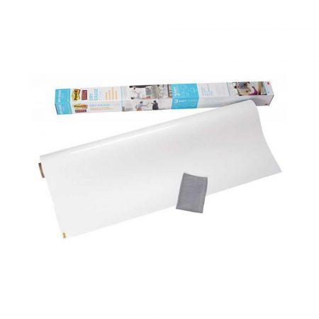 akcesoria biurowe 4 alibiuro.pl Suchościeralna folia w rolce POST IT Dry Erase DEF4X3 EU 61x91cm biała 81