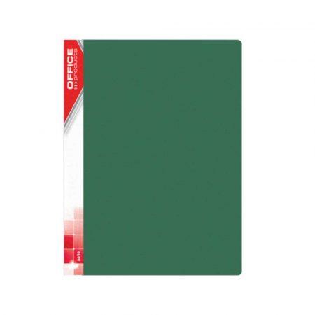 akcesoria biurowe 4 alibiuro.pl Teczka ofertowa OFFICE PRODUCTS PP A4 620mikr. 30 koszulek zielona 3