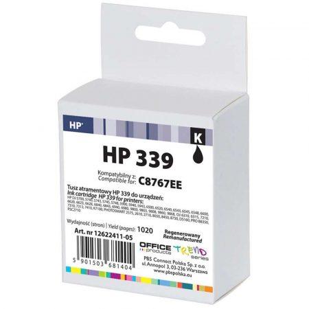 akcesoria biurowe 4 alibiuro.pl Tusz OP R HP C8767EE HP 339 do DJ6940 black 0