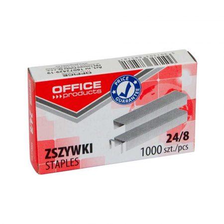 akcesoria biurowe 4 alibiuro.pl Zszywki OFFICE PRODUCTS 24 8 1000szt. 1