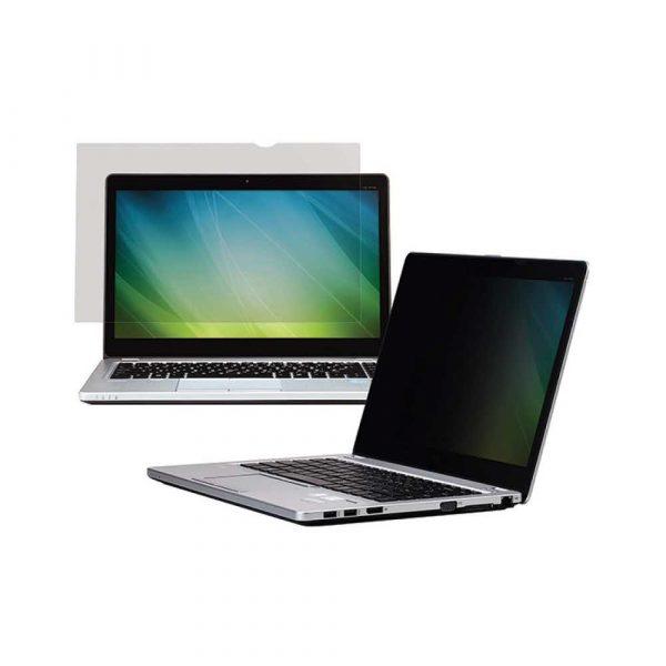 akcesoria komputerowe 4 alibiuro.pl Bezramkowy filtr prywatyzujący 3M PF140W9B do laptopów 16 9 14 Inch czarny 89