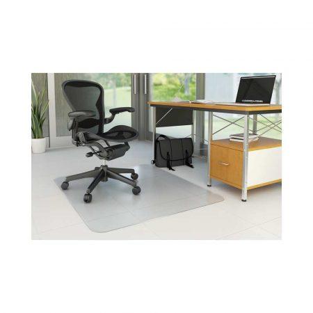 akcesoria komputerowe 4 alibiuro.pl Mata pod krzesło Q CONNECT na podłogi twarde 150x120cm prostokątna 7