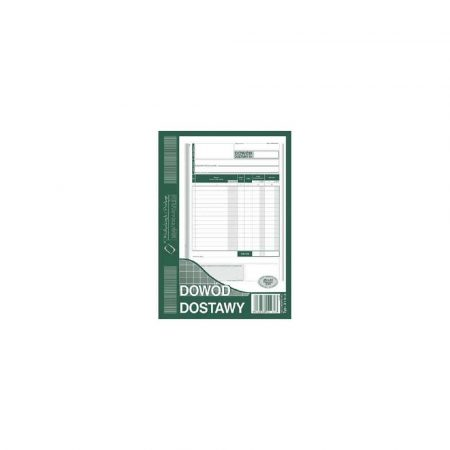 akcydensy 1 alibiuro.pl Dowód dostawy A5 samokopiujący 80 k MIP 315 3 29